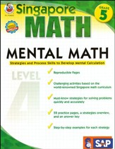 Singapore Mental Math Level 4 Grade 5