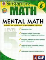 Singapore Mental Math Level 5 Grade 6
