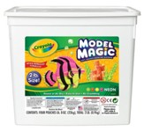 Crayola, Model Magic, Neon Color , 2 Lb.