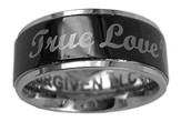 True Love Waits Spinner Ring, Size 12