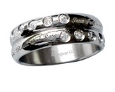 Friends are Like Diamonds Ring, Size 8