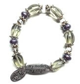 My Mother My Angel Bracelet, Amethyst