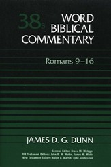 Word Biblical Commentary: Romans 9-16, Volume 38B  - Slightly Imperfect