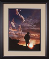 Our Prayers are With You Always Framed Print