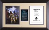 Firefighter's Prayer Framed Print