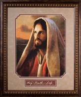 Prince of Peace, Image of Jesus, Framed
