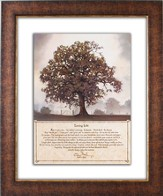 Living Life Framed Print