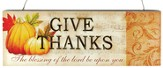 Give Thanks Sign