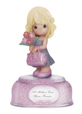 A Mother's Love Shines Musical Figurine