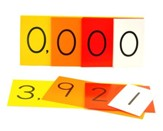 Singapore Math Manipulatives: Place Value Strips (Units-Thousands, 1-3)