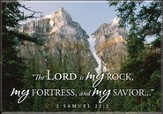 The Lord is My Rock Mountain Nature Magnet