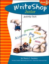 Write Shop Junior Activity Pack w/Fold-N-Go Grammar, Book D