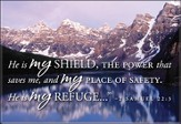 My Shield Mountain Lake Nature Magnet