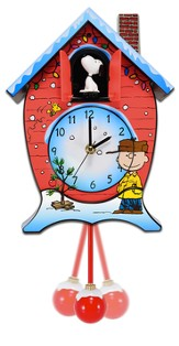 Peanuts and Woodstock Cuckoo Clock