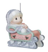 Baby's First Christmas 2015 Ornament, Blue