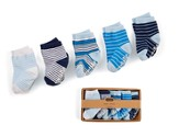 Striped Sock Set, Blue