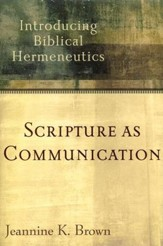 Scripture as Communication
