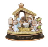 Silent Night Nativity, Deluxe Rotating Musical