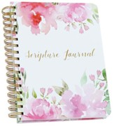 Scripture Journal, Floral, Pink