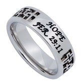 Hope Mirage Women's Ring, Size 6 (Jer. 29:11)