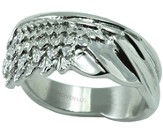 Wing Ring, Silver, Size 10