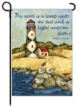 Thy Word is a Lamp Unto My Feet Flag, Small