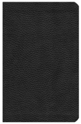 NKJV Ultraslim Bible, Cowhide, Black