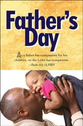 Father and Child Father's Day Bulletin 2013, Regular (Package of 50)