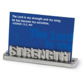 Strength Scripture Card Holder