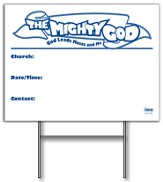 Community Yard Sign with Stand