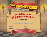 Appreciation Certificate, package of 10