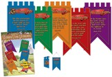 Memory Verse Pennants, package of 5