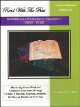 Read with the Best American Literature, Volume 2 (1860-1950) Student Workbook