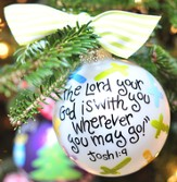 Lord Your God Ornament