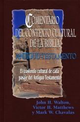 Comentario del Contexto Cultural de la Biblia: Antiguo Testamento   (Bible Background Commentary: Old Testament)  - Slightly Imperfect