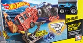 Hot Wheels Monster Jam Smash-Up Station, Track Set