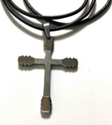 Guitar Necks 18 Stainless Steel Cross Necklace