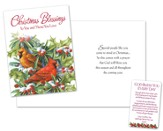Cardinal Christmas Card with Prayer Card, Package of 18