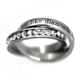 True Friends Ring, Size 8