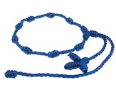Prayer Bracelet, Cord, Dark Blue