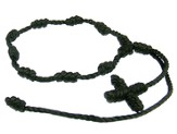 Prayer Bracelet, Cord, Black