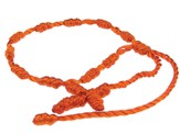 Prayer Bracelet, Cord, Orange