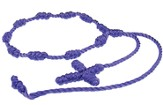 Prayer Bracelet, Cord, Dark Purple