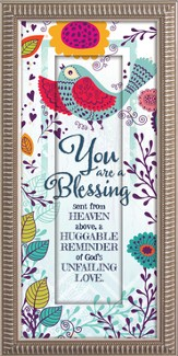 You Are A Blessing Sent From Heaven Above Framed Art