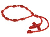 Prayer Bracelet, Cord, Red