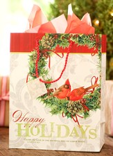 Happy Holidays Gift Bag, Large