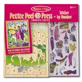 Princess Castle, Petite Peel & Press Sticker by Number