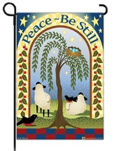 Peace - Be Still Flag, Small