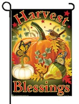 Harvest Blessings Flag, Small