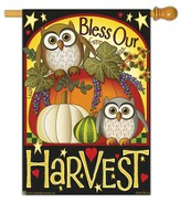 Bless Our Harvest Flag, Large